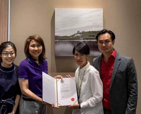 ทีไอไอ แสดงความยินดีผู้จบหลักสูตร ANZIIF THAI รับมอบใบประกาศขั้น Certificated 9