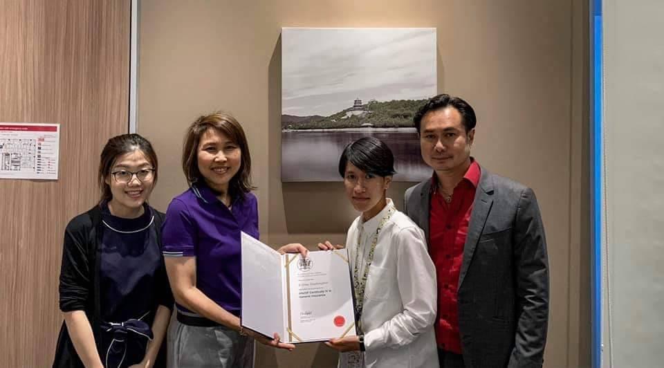 ทีไอไอ แสดงความยินดีผู้จบหลักสูตร ANZIIF THAI รับมอบใบประกาศขั้น Certificated 2